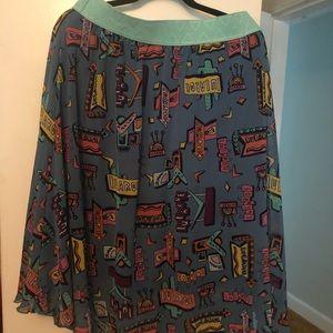 LuLaRoe skirt XL